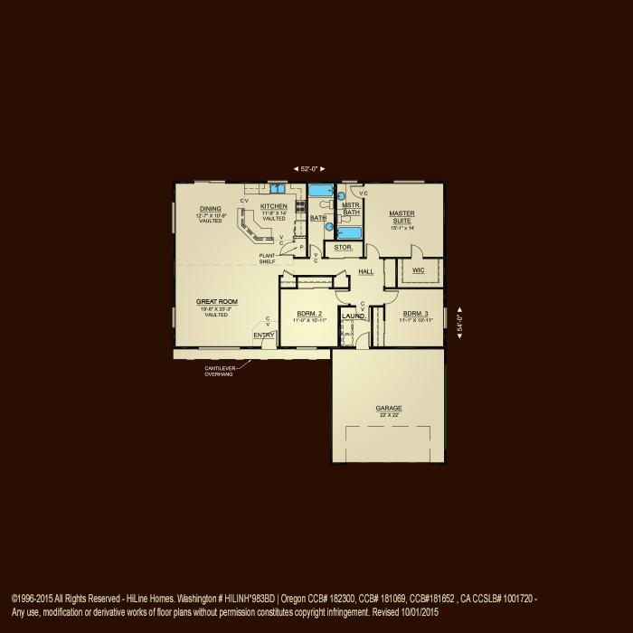 Hiline Homes Floor Plans 28 Images Floorplan 1793