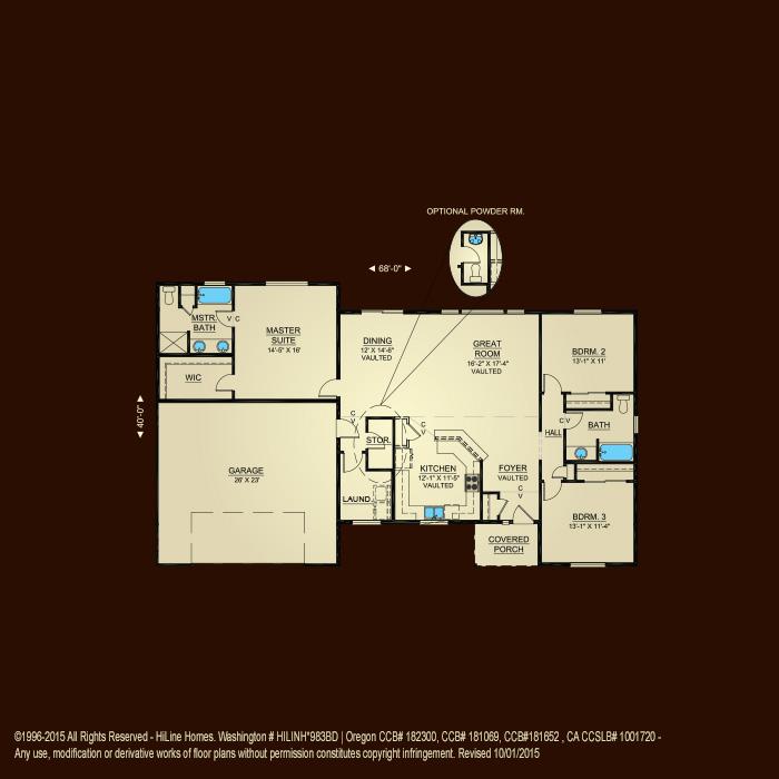 Hiline Homes Plans Avie Home