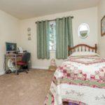 1664 Floor Plan - Bedroom