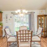 1664 Floor Plan - Dining Room