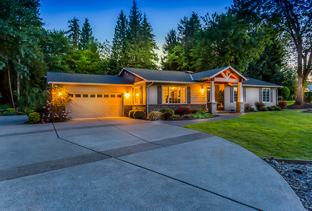Washington custom home builder hiline homes headquarters for Custom home builders puyallup wa