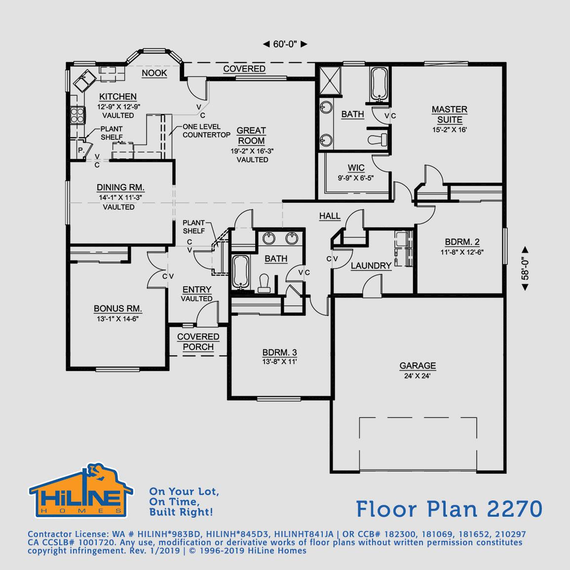 Floorplan 2270