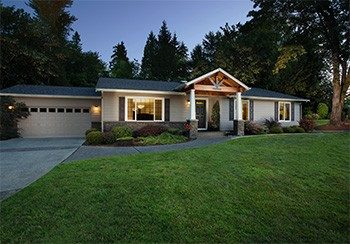 1 story custom home puyallup washington