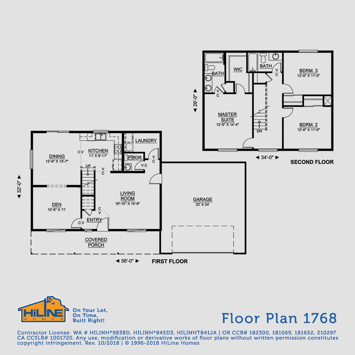 Floorplan 1768