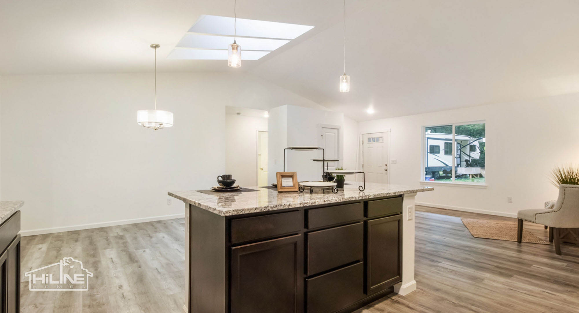 HiLine Home Plan 1491 Kitchen to Great Room