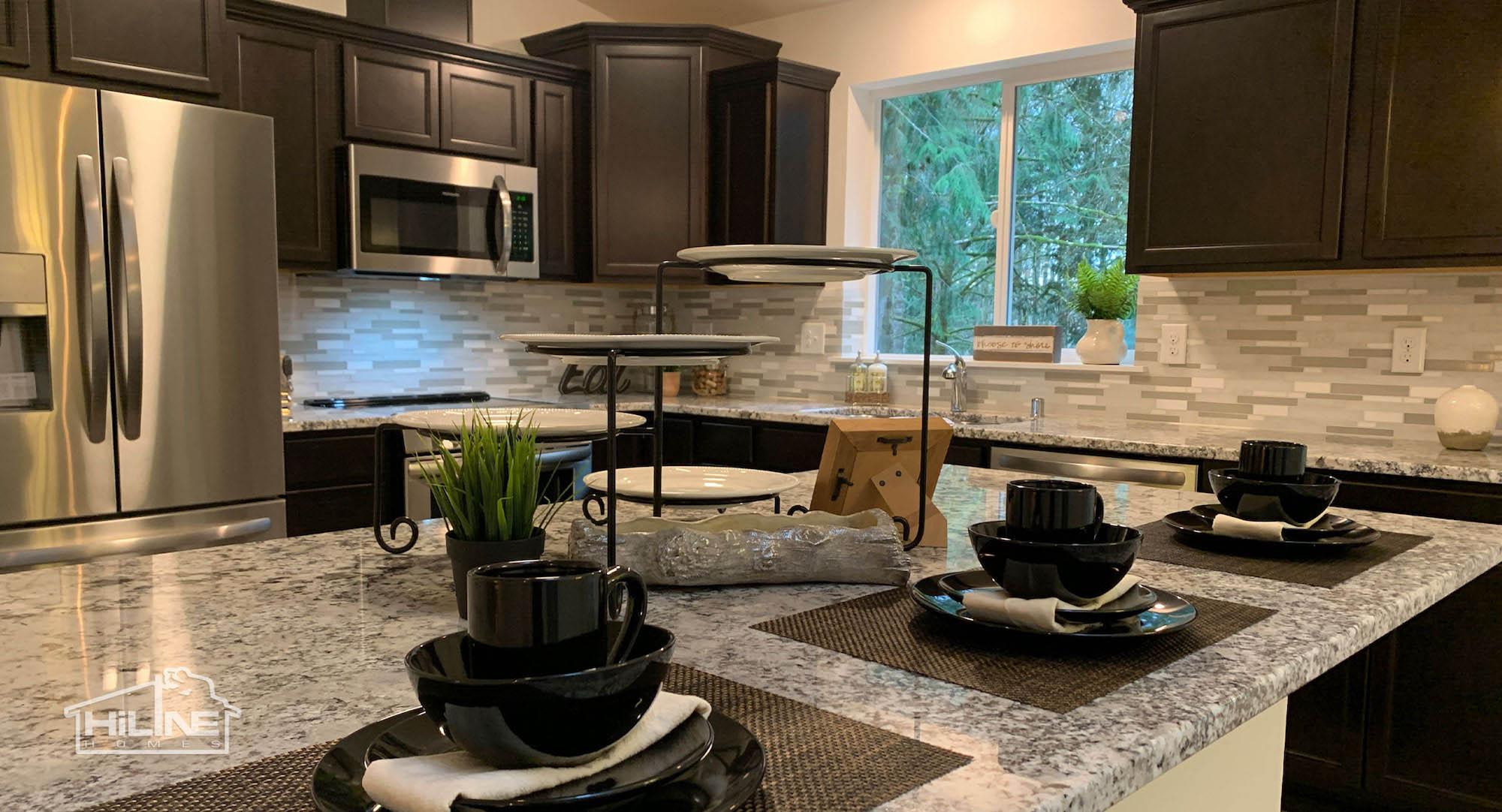 HiLine Home Plan 1491 Kitchen