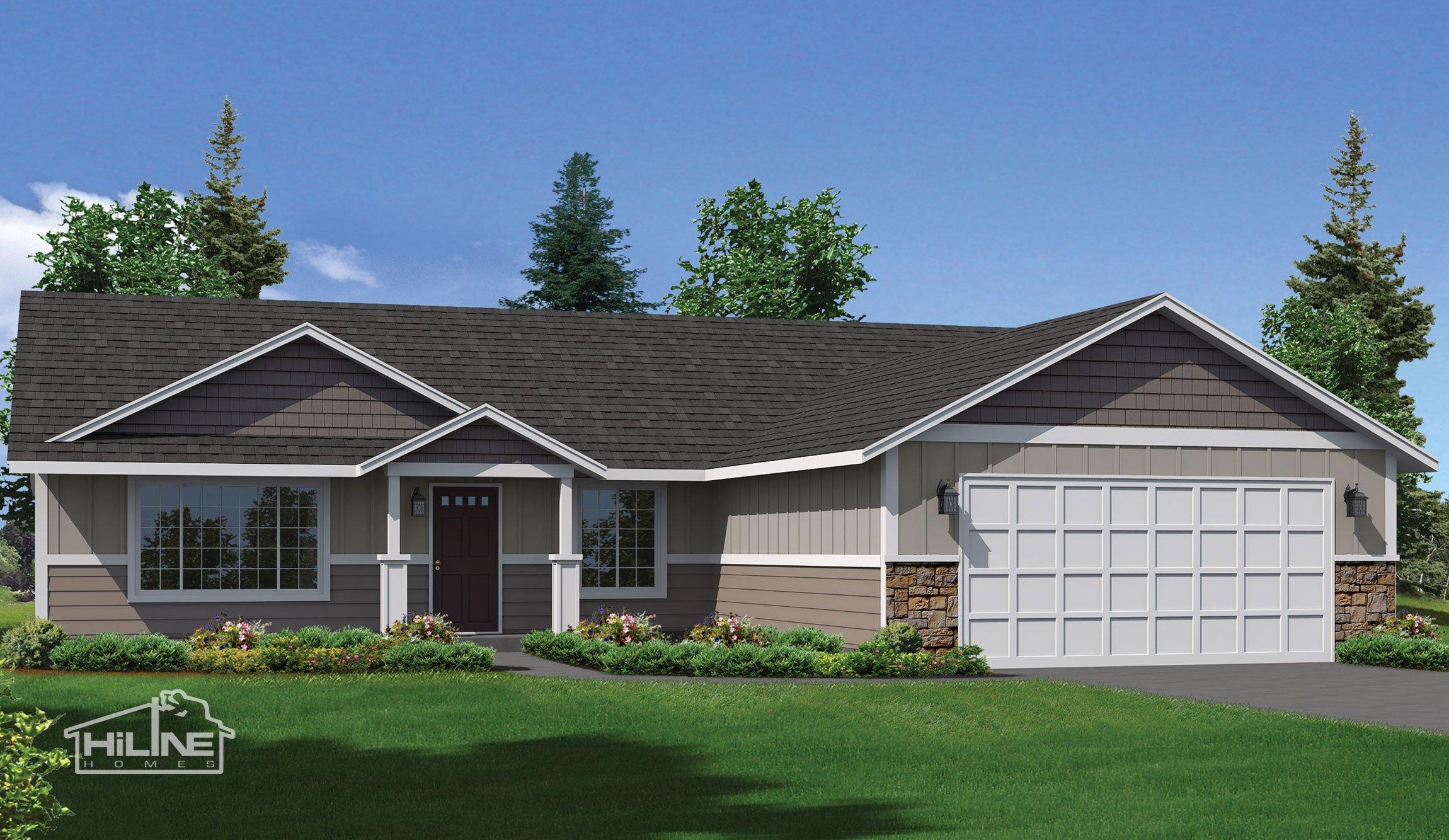 Image of Home Plan 1664 Rendering