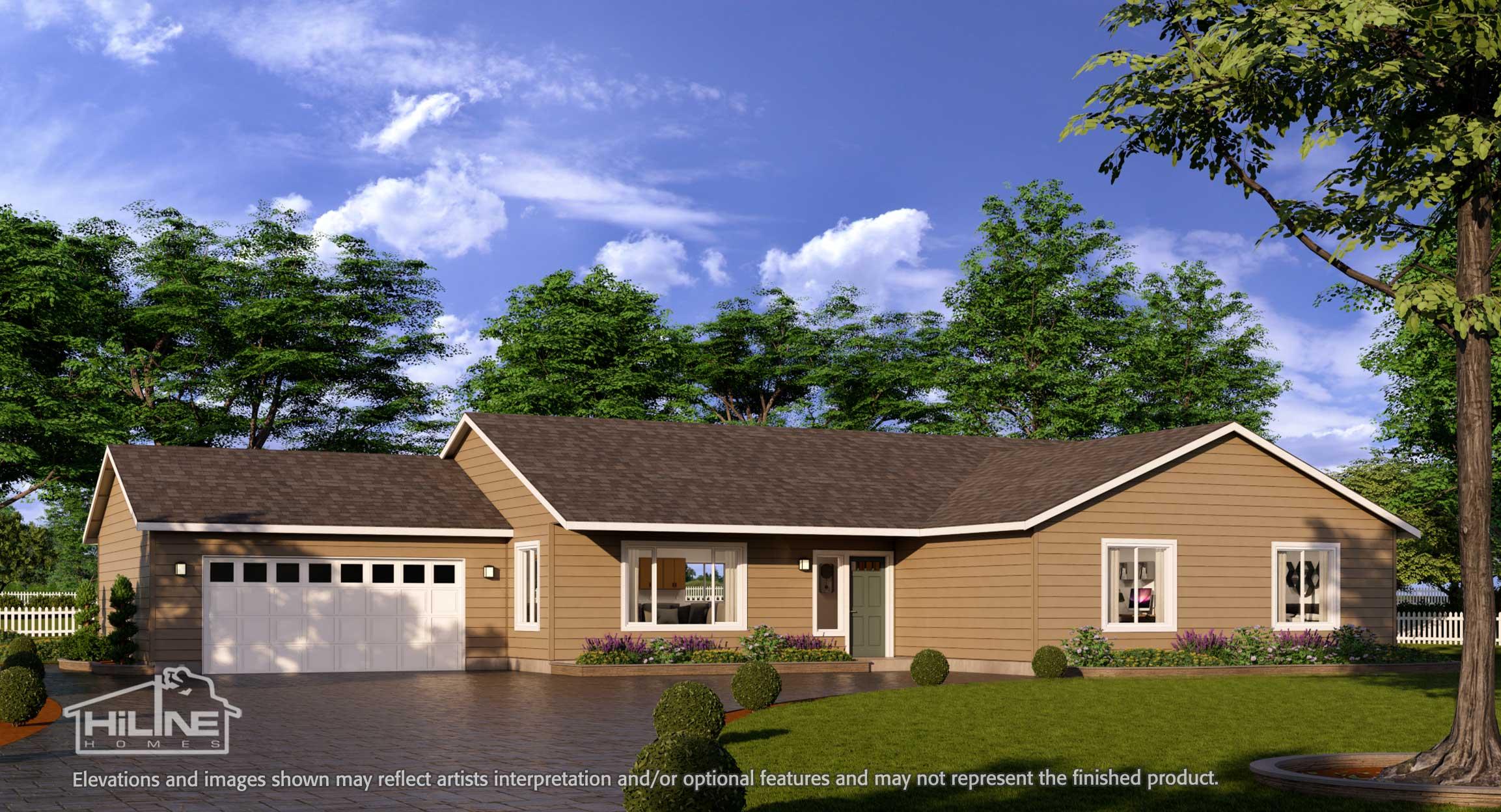 Image of Home Plan 2112 Standard Rendering