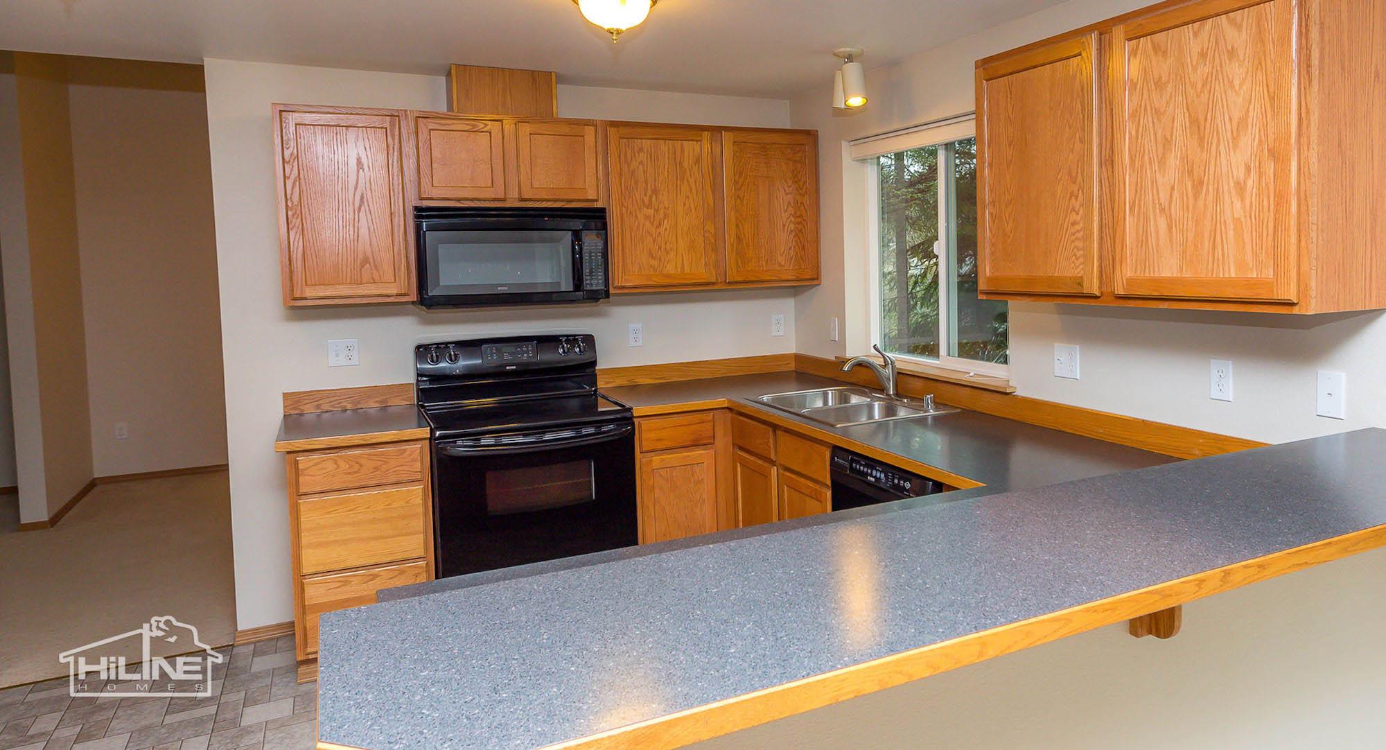 HiLine Home Plan 2345 Kitchen
