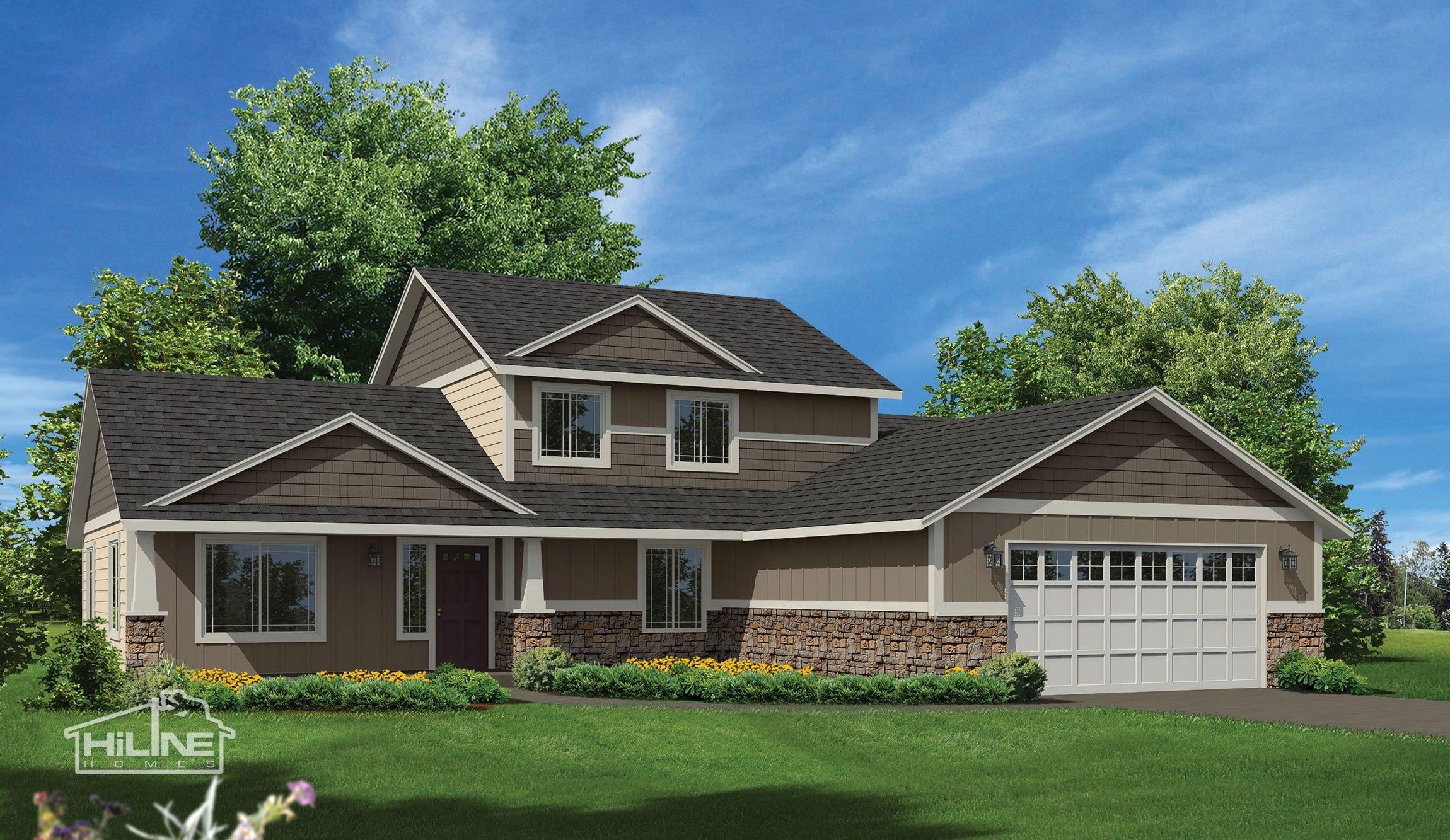 Home Plan 2345
