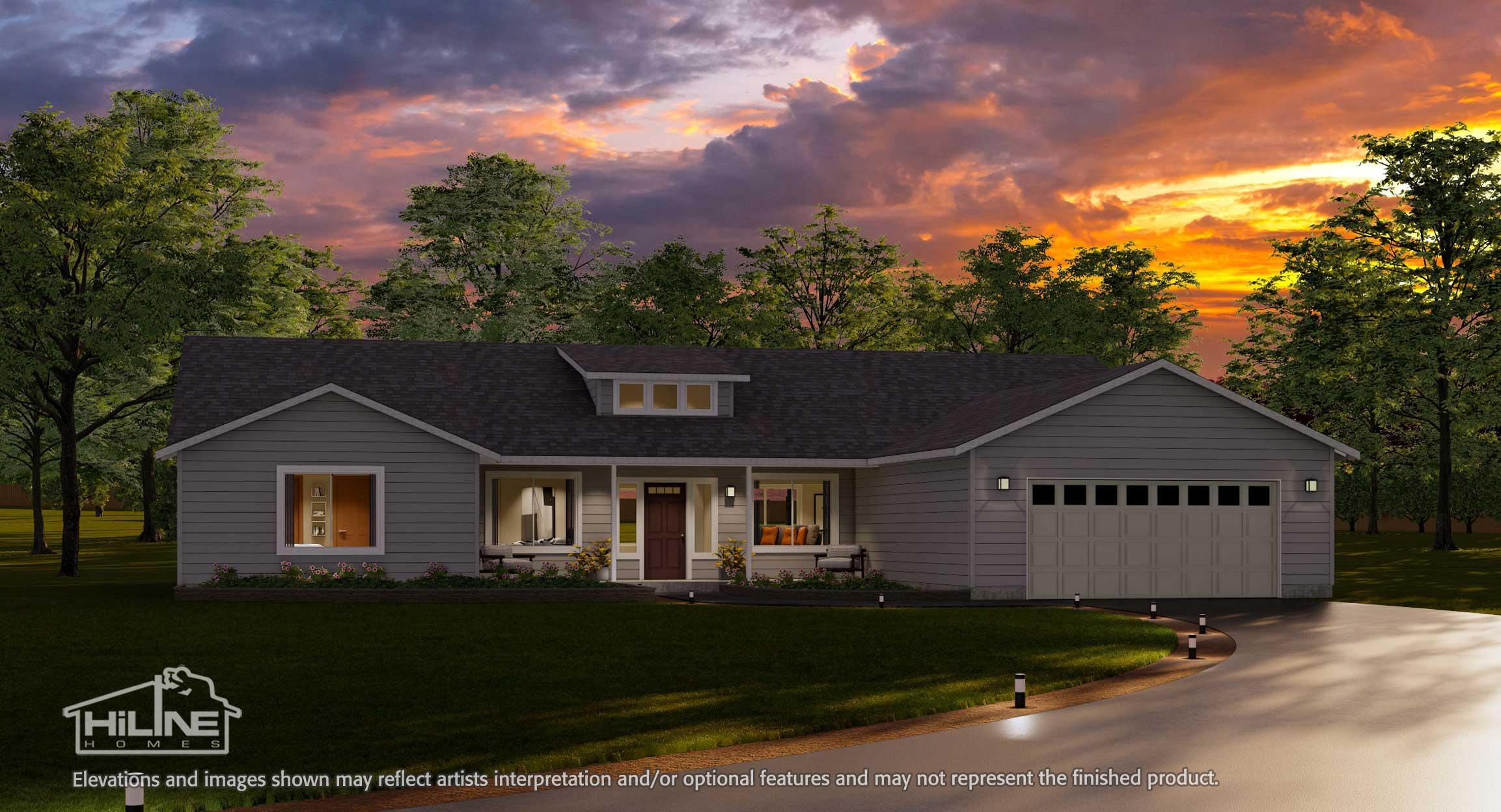 Home Plan 2592