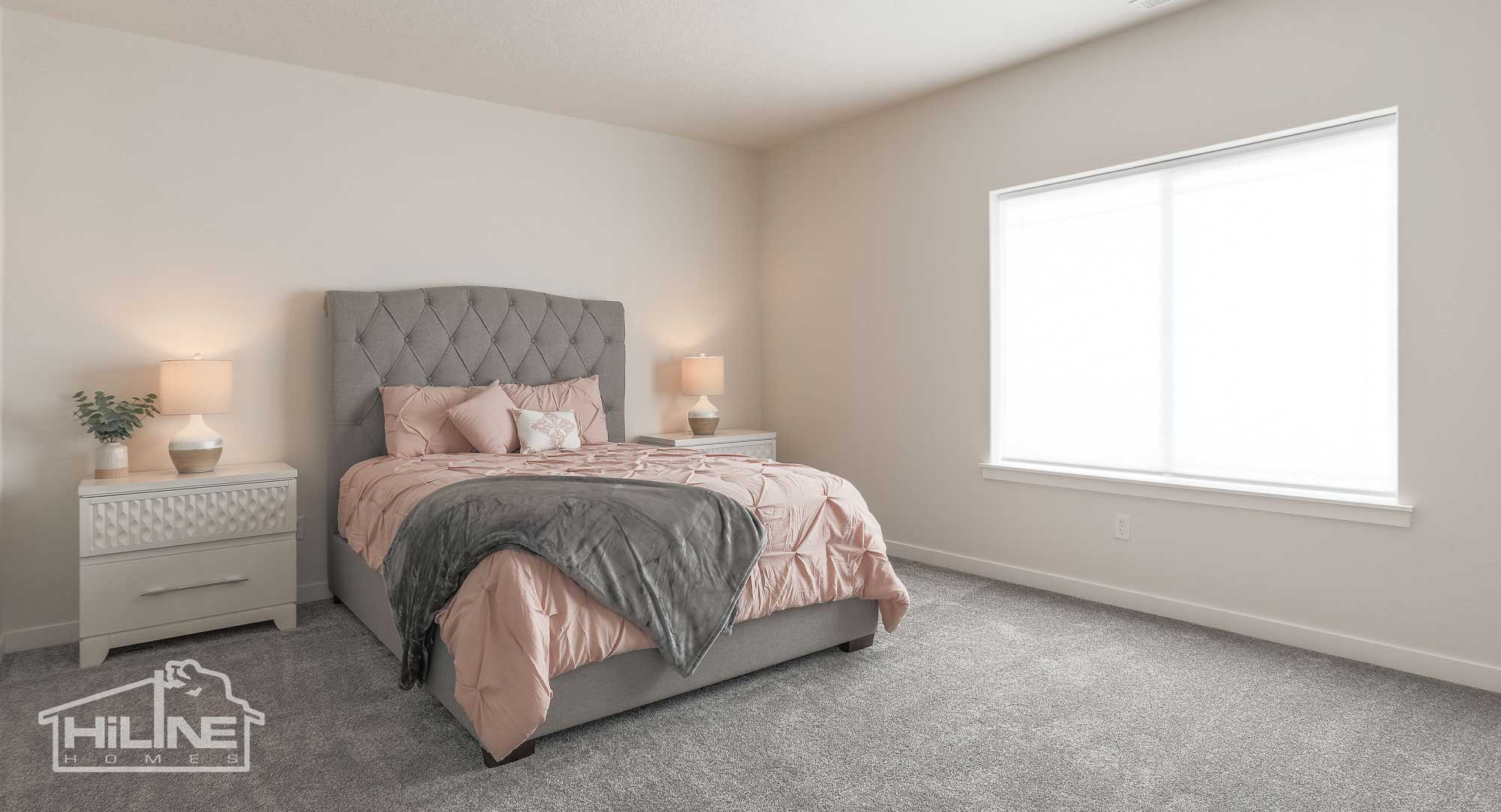 Image of HiLine Homes of Meridian Master Suite