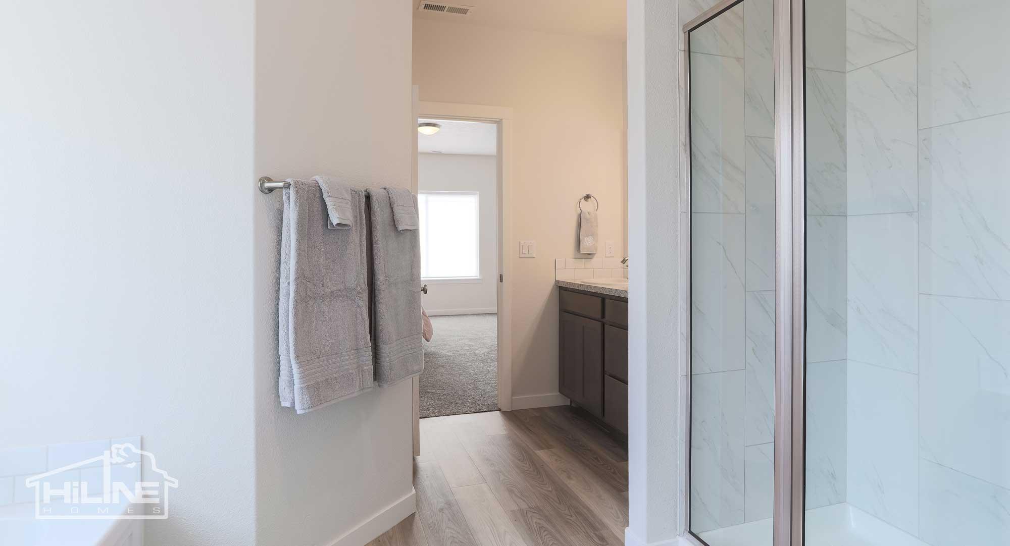 Image of HiLine Homes of Meridian Master Bathroom