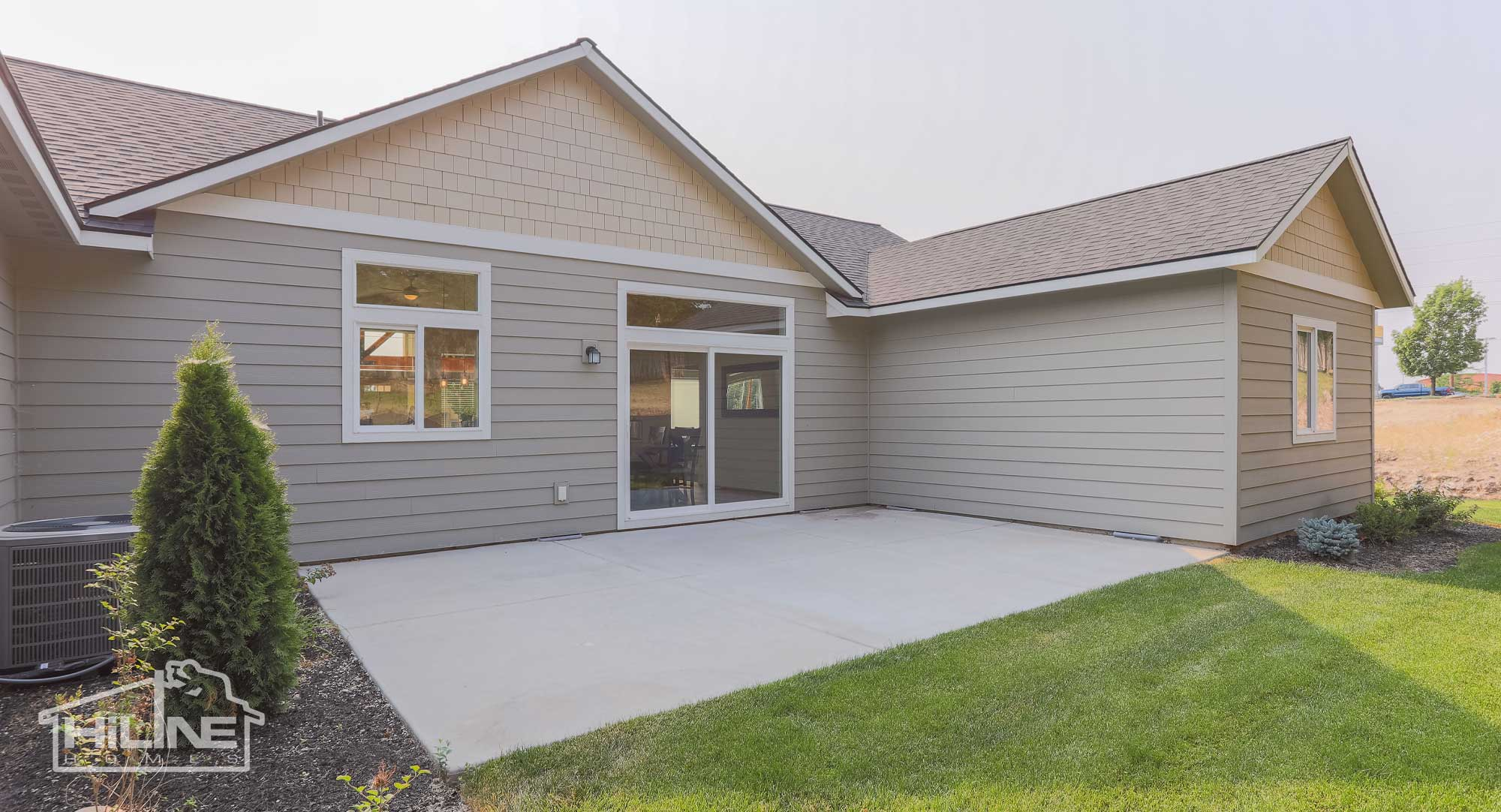 Image of HiLine Homes of Meridian Rear Exterior